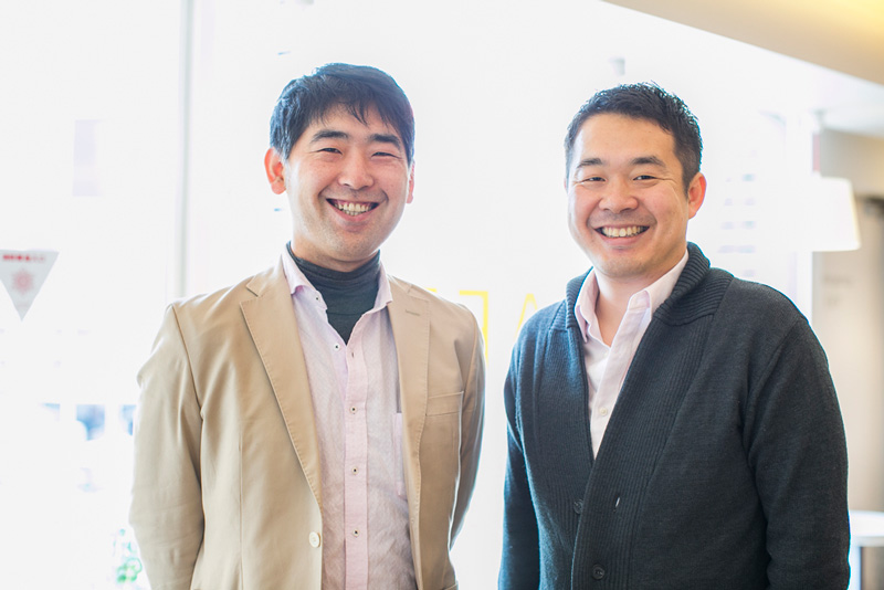島田正樹さんと代表の廣
