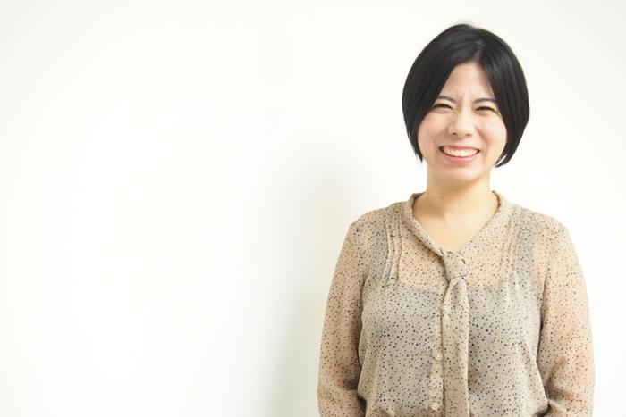 ZIP WORK長橋さんの笑顔