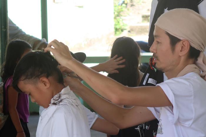 貧困地域の子どもたちが自立するための美容室をー美容師のプロボノ「ハサミノチカラ」…